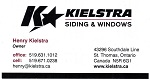 Kielstra Siding & Windows